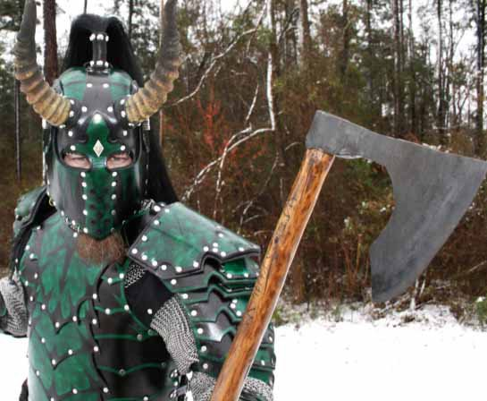 Viking Style Bearded Axe White Hart Forge