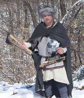Viking Scram Seax White Hart Forge