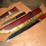seax and blade